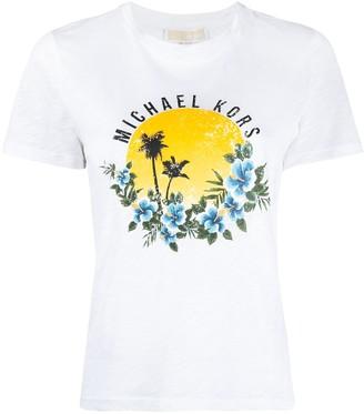 MICHAEL Michael Kors graphic print T-shirt