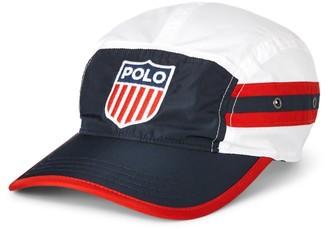 Ralph Lauren Flag Shield Five-Panel Cap