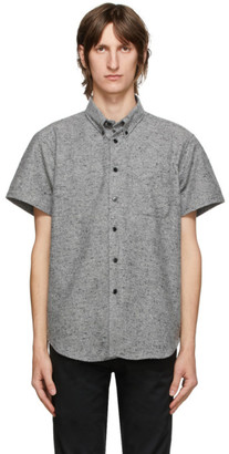 Naked and Famous Denim Grey Easy Short Sleeve Shirt
