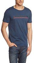 G Star Men's Rezton Long Crew Neck Shortsleeve Tee Shirt