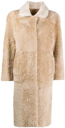 Sylvie Schimmel Reversible Shearling Long Coat