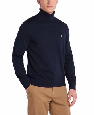 Nautica Men's Navtech Turtleneck Sweater
