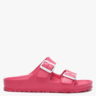 Birkenstock Arizona Jelly Coral Two Bar Mules