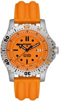 Traser H3 P6602P58F4A09 Men's Watch Stainless Steel Diver Automatic Orange Dial Silicone Strap