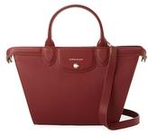 Longchamp Le Pliage Heritage Medium Leather Tote Bag
