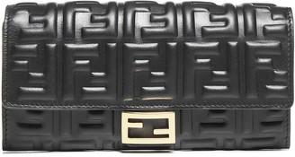 Fendi Baguette Chain Strap Wallet