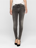 Calvin Klein Sculpted Smoky Grey Skinny Jeans