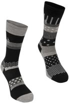 Original Penguin Mens Socks 2 Pack Knitted Casual Accessories