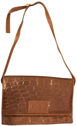 Gianfranco Ferre Brown Leather Handbags