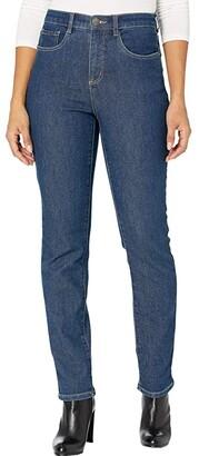 FDJ French Dressing Jeans Cozy Denim Suzanne Straight Leg in Indigo (Indigo) Women's Jeans