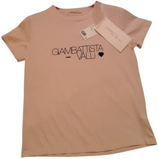 Giambattista Valli X H&m Pink Cotton Top for Women
