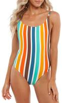 rhythm Zimbabwe Scoop One-Piece Swimsuit