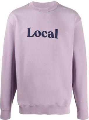 Paura 'Local' print sweatshirt