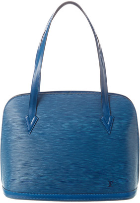 Louis Vuitton Blue Epi Leather Lussac