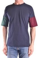 Daniele Alessandrini Men's Blue Cotton T-shirt.