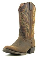 Justin Boots Sorrel Apache Men 2e Round Toe Leather Brown Western Boot.