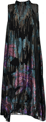Peter Pilotto Fireworks High Neck Dress