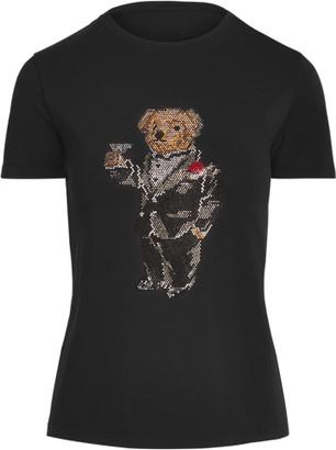 Ralph Lauren Martini Polo Bear Cotton Tee