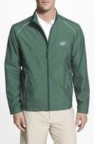 Cutter & Buck Men's 'New York Jets - Beacon' Weathertec Wind & Water Resistant Jacket