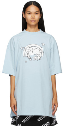 Vetements Blue Magic Unicorn T-Shirt