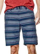 GUESS Men's Bettino Striped Shorts