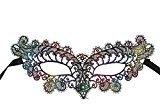 Botrong Halloween Christmas Women's Venetian Masquerade Party Decorative Mask (Multicolor)