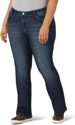 Wrangler Women's Plus Size Western Rise Boot Cut Jean