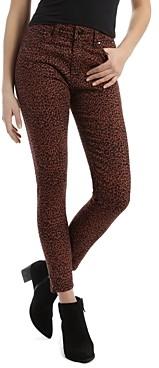 Mavi Jeans Tess Leo Skinny Jeans in Brown Leopard
