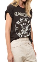 Madeworn Rock Ramones Rocket To Russia With Nailheads Tee