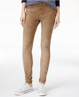 Joe's Jeans Icon Faux-Suede Ankle Skinny Jeans