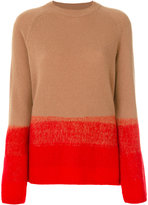 Etro colour block sweater