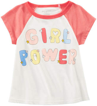 First Impressions Baby Girls Cotton Girl Power T-Shirt