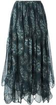 See by Chloe scalloped maxi skirt