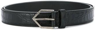 Saint Laurent Triangle buckle belt