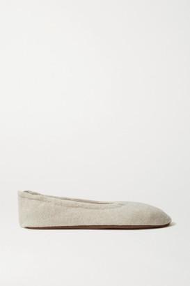 Skin Cashmere Ballet Flats - Beige