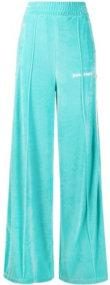 Palm Angels High-Waisted Track Trousers