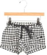 Bonpoint Girls' Gingham Shorts