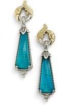 Konstantino Women's 'Iliada' Doublet Drop Earrings