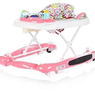 Chipolino 3 in 1 Baby Walker, Pink, Lilly