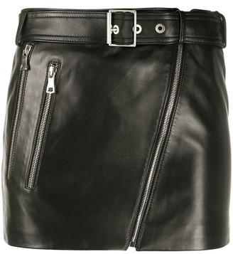 Manokhi Biker 4 mini skirt