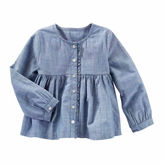 Osh Kosh Oshkosh Long Sleeve Shirt-Toddler Girls