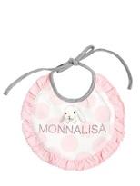 MonnaLisa Stretch Cotton Jersey Bib Set