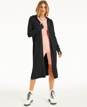 INC International Concepts Culpos X Inc Maxi-Length Hoodie, Created for Macy's