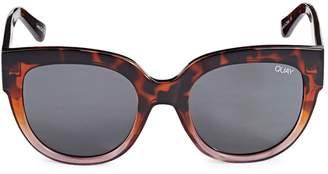 Quay 54MM Oval Sunglasses