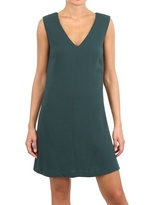 Space Double Layered Crepe Dress