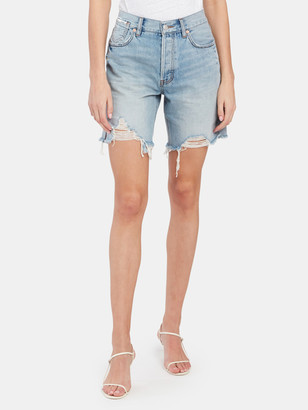 Free People Sequoia Mid Length Cutoff Shorts