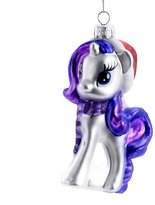 Kurt Adler ML4131 My Little Pony Glass Rarity Ornament