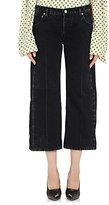 Balenciaga Women's Rockabilly Crop Jeans-BLACK