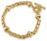 Lauren Ralph Lauren 12K Goldplated Braided Bracelet