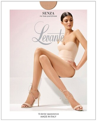 Levante Senza No Toes Pantyhose Tan